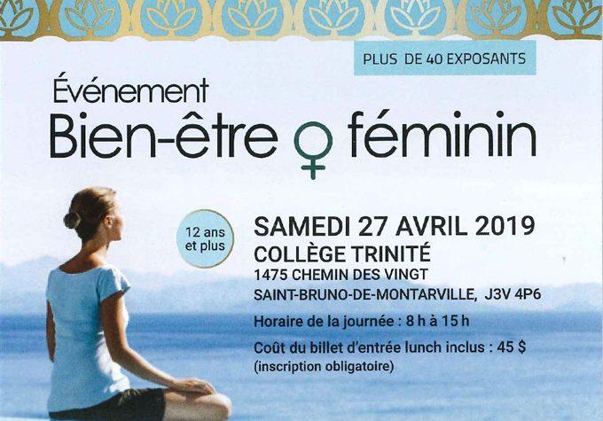 Événement Bien-être au féminin au profit de la Fondation Carrefour pour elle