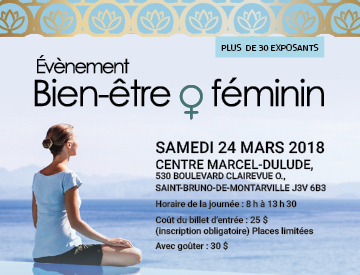 Évènement Bien-être au féminin
